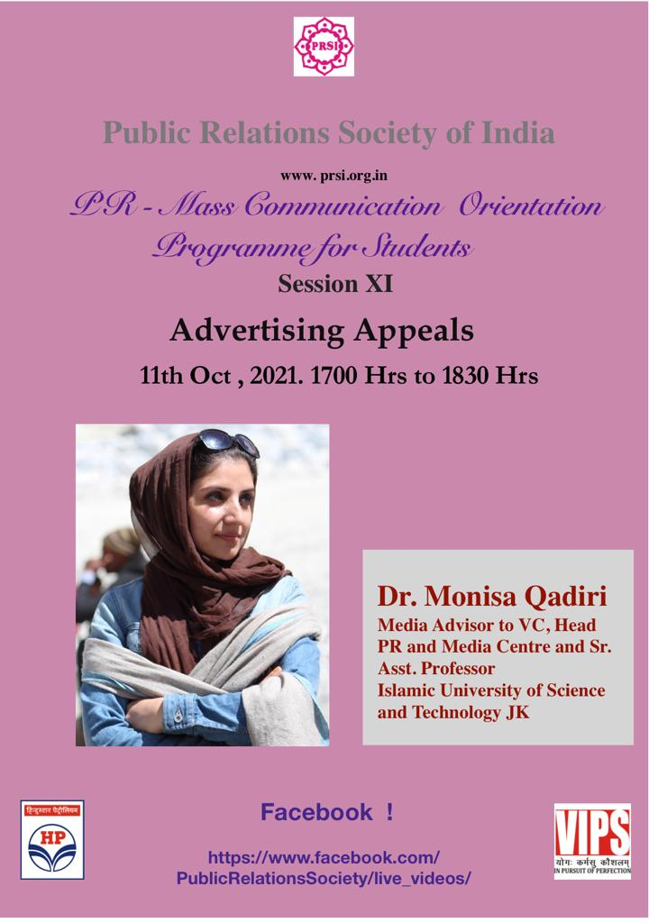 Dr Monisa Qadiri Asst Professor, Islamic University of Science & Technology, J&K